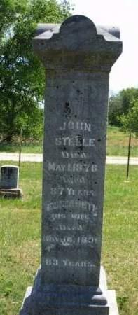 STEELE, JOHN - Madison County, Iowa | JOHN STEELE