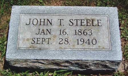 STEELE, JOHN THOMAS - Madison County, Iowa | JOHN THOMAS STEELE
