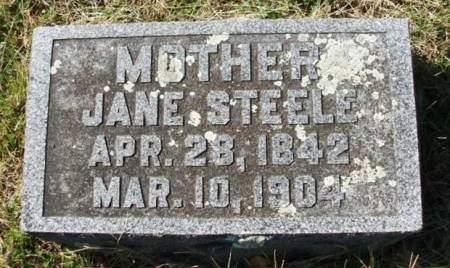 GRAVES STEELE, JANE - Madison County, Iowa | JANE GRAVES STEELE