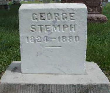 STEMPH, GEORGE - Madison County, Iowa | GEORGE STEMPH