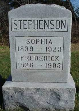 STEPHENSON, FREDERICK A. - Madison County, Iowa | FREDERICK A. STEPHENSON
