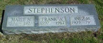 STEPHENSON, MARIE NELLIE - Madison County, Iowa | MARIE NELLIE STEPHENSON