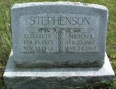STEPHENSON, ELIZABETH - Madison County, Iowa | ELIZABETH STEPHENSON