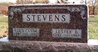 HOOVER STEVENS, ELSIE CLYDE - Madison County, Iowa | ELSIE CLYDE HOOVER STEVENS