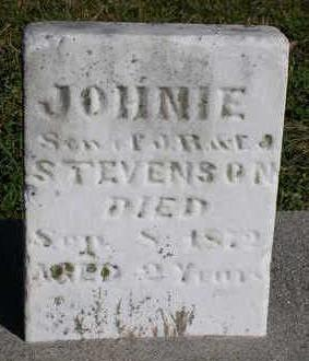 STEVENSON, JOHNIE - Madison County, Iowa | JOHNIE STEVENSON