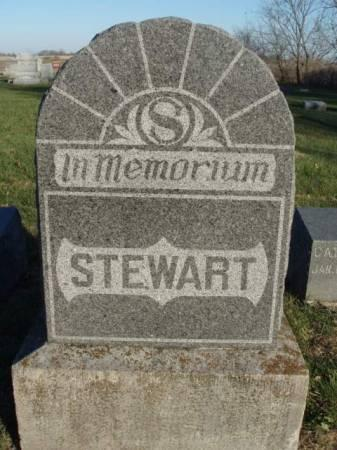 STEWART, FAMILY STONE - Madison County, Iowa | FAMILY STONE STEWART