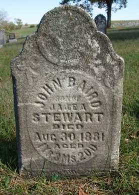 STEWART, JOHN BAIRD - Madison County, Iowa | JOHN BAIRD STEWART