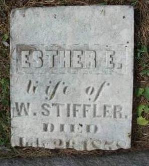 STIFFLER, ESTHER E. - Madison County, Iowa | ESTHER E. STIFFLER