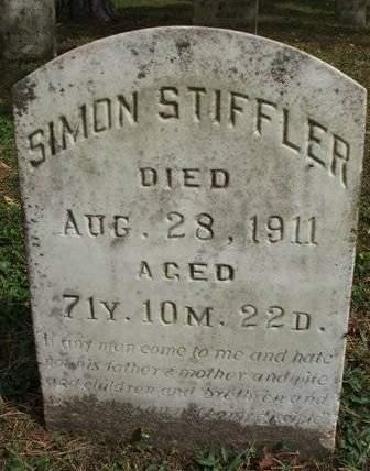 STIFFLER, SIMON - Madison County, Iowa | SIMON STIFFLER
