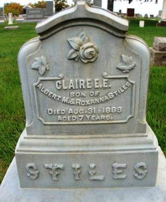 STILES, CLAIRE  E. E. - Madison County, Iowa | CLAIRE  E. E. STILES