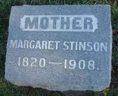 SMITH STINSON, MARGARET - Madison County, Iowa | MARGARET SMITH STINSON