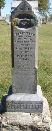 STONEHOCKER, TIMOTHY - Madison County, Iowa | TIMOTHY STONEHOCKER