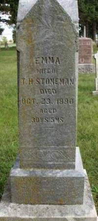 MARTIN STONEMAN, EMMA - Madison County, Iowa | EMMA MARTIN STONEMAN