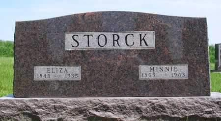STORCK, SOPHIA DORTHEA ELIZA - Madison County, Iowa | SOPHIA DORTHEA ELIZA STORCK