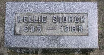 STORCK, JOHANNA FREIDERICKA TUSELDA (NELLIE) - Madison County, Iowa | JOHANNA FREIDERICKA TUSELDA (NELLIE) STORCK