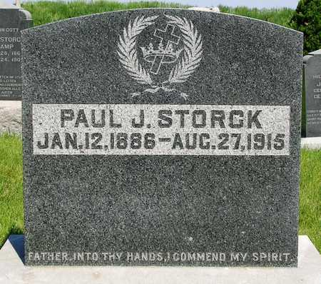 STORCK, PAUL JULIUS - Madison County, Iowa | PAUL JULIUS STORCK