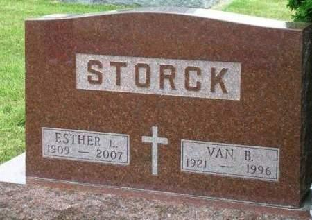 MARTENS STORCK, ESTHER LENA - Madison County, Iowa | ESTHER LENA MARTENS STORCK