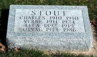 STOUT, VERNE - Madison County, Iowa | VERNE STOUT