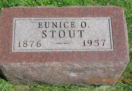 STOUT, EUNICE OLIVE - Madison County, Iowa | EUNICE OLIVE STOUT