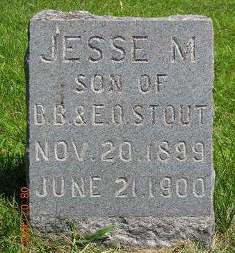 STOUT, JESSE MERLE - Madison County, Iowa | JESSE MERLE STOUT