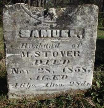 STOVER, SAMUEL - Madison County, Iowa | SAMUEL STOVER