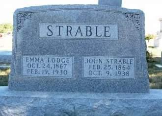 STRABLE, JOHN - Madison County, Iowa | JOHN STRABLE