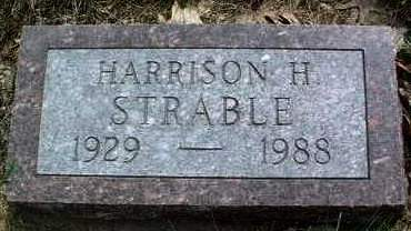 STRABLE, HARRISON HOOVER - Madison County, Iowa   HARRISON HOOVER STRABLE