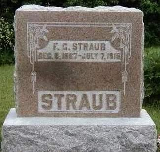 STRAUB, FRED G. - Madison County, Iowa | FRED G. STRAUB