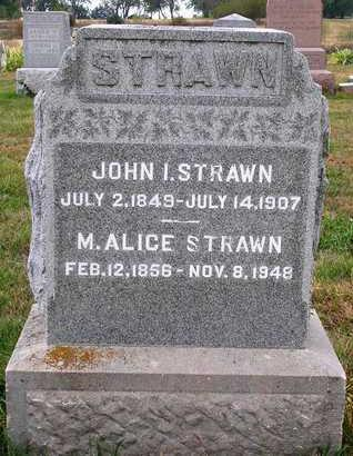 WALLICK STRAWN, MARY ALICE - Madison County, Iowa | MARY ALICE WALLICK STRAWN