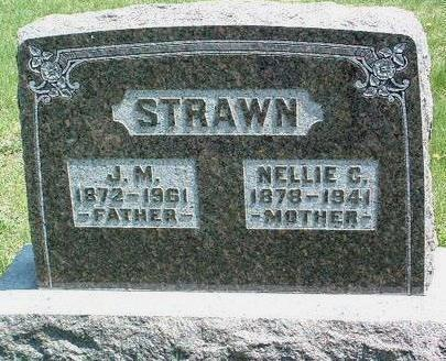 BUMBARGER STRAWN, NELLIE CINDERELLA - Madison County, Iowa | NELLIE CINDERELLA BUMBARGER STRAWN
