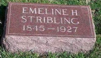 HORTON STRIBLING, EMELINE H. - Madison County, Iowa | EMELINE H. HORTON STRIBLING