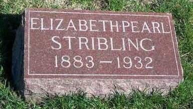 STRIBLING, ELIZABETH PEARL - Madison County, Iowa | ELIZABETH PEARL STRIBLING