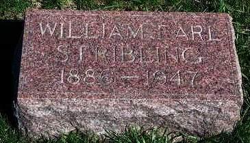 STRIBLING, WILLIAM EARL - Madison County, Iowa   WILLIAM EARL STRIBLING