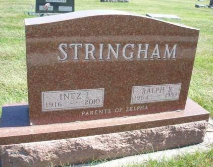 STRINGHAM, INEZ IRENE - Madison County, Iowa | INEZ IRENE STRINGHAM
