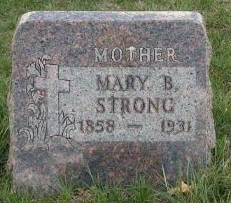 DAVIS STRONG, MARY BELINDA - Madison County, Iowa | MARY BELINDA DAVIS STRONG