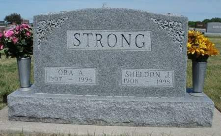 HUTZELL STRONG, ORA ADEL - Madison County, Iowa | ORA ADEL HUTZELL STRONG