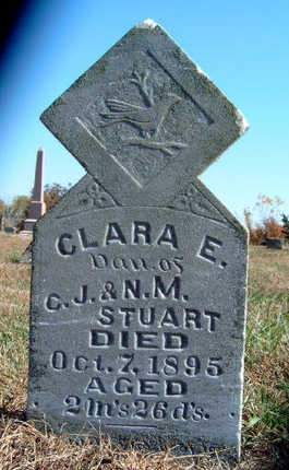 STUART, CLARA E. - Madison County, Iowa | CLARA E. STUART
