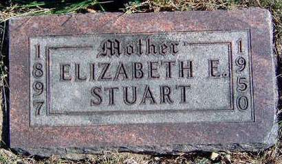 STUART, ELIZABETH ETHEL - Madison County, Iowa | ELIZABETH ETHEL STUART