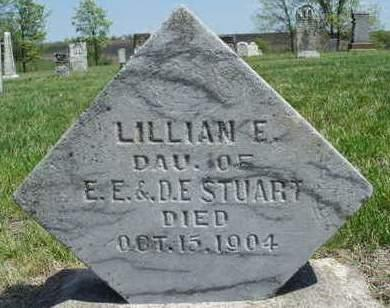 STUART, LILLIAN E. - Madison County, Iowa | LILLIAN E. STUART