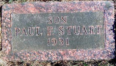 STUART, PAUL FRANKLIN - Madison County, Iowa | PAUL FRANKLIN STUART