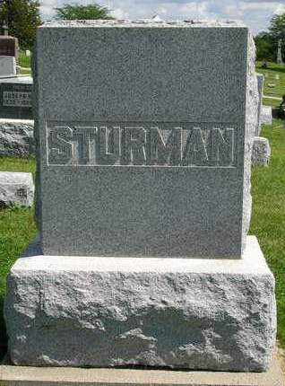 STURMAN, FAMILY STONE - Madison County, Iowa | FAMILY STONE STURMAN
