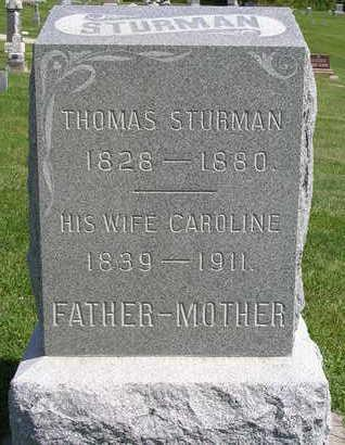 STURMAN, CAROLINE (CARRIE) - Madison County, Iowa | CAROLINE (CARRIE) STURMAN