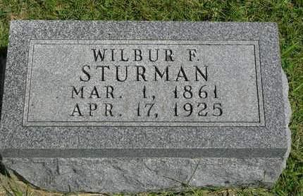 STURMAN, WILBUR F. - Madison County, Iowa | WILBUR F. STURMAN
