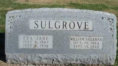 SULGROVE, WILLIAM SHERMAN - Madison County, Iowa | WILLIAM SHERMAN SULGROVE