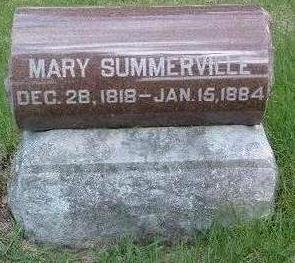 SUMMERVILLE, MARY - Madison County, Iowa | MARY SUMMERVILLE