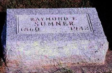 SUMNER, RAYMOND E. - Madison County, Iowa | RAYMOND E. SUMNER
