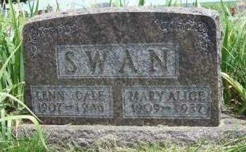 SWAN, MARY ALICE - Madison County, Iowa | MARY ALICE SWAN