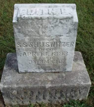 SWITZER, EDITH ESTHER - Madison County, Iowa | EDITH ESTHER SWITZER