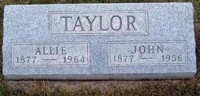 TAYLOR, JOHN A. - Madison County, Iowa | JOHN A. TAYLOR