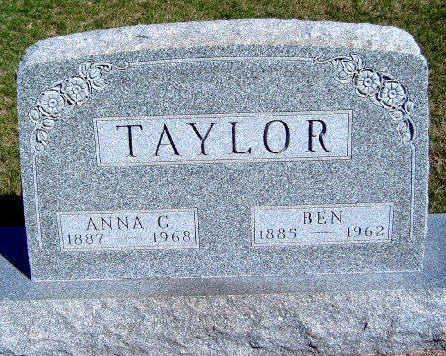 TAYLOR, ANNA GERTRUDE - Madison County, Iowa | ANNA GERTRUDE TAYLOR